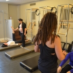 Semi-private class at Main street studio