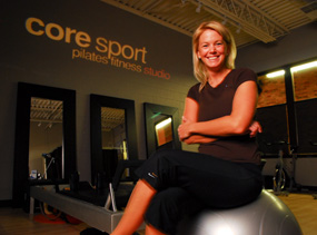 Jaime is the Owner and Lead Pilates Instructor at Core Sport Studio