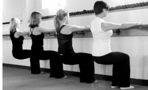 Working Out Using the Barre