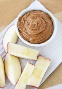 almond-butter-with-apples