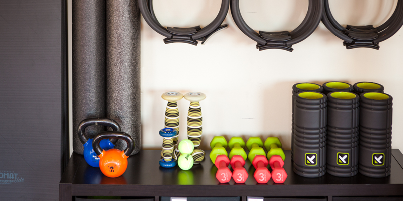 Core sport pilates weights and workout equipment